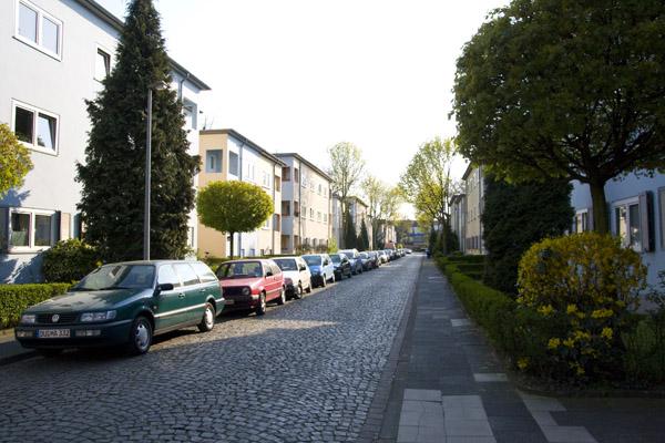 Bauhausviertel_Duisburg_Straße